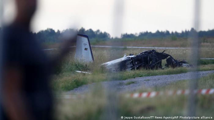 В Швеции разбился самолет с парашютистами – все погибли