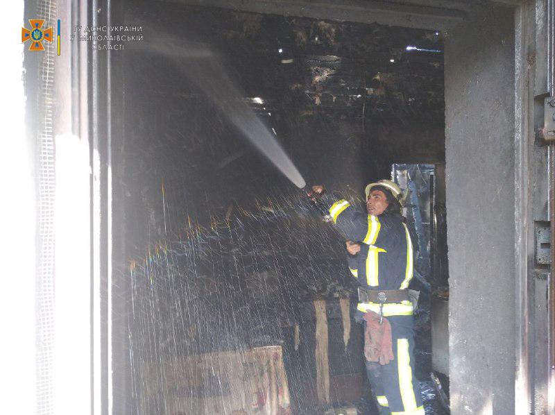 В Николаевской области потушили еще 2 горевших автомобиля и частный магазин (ФОТО) 15