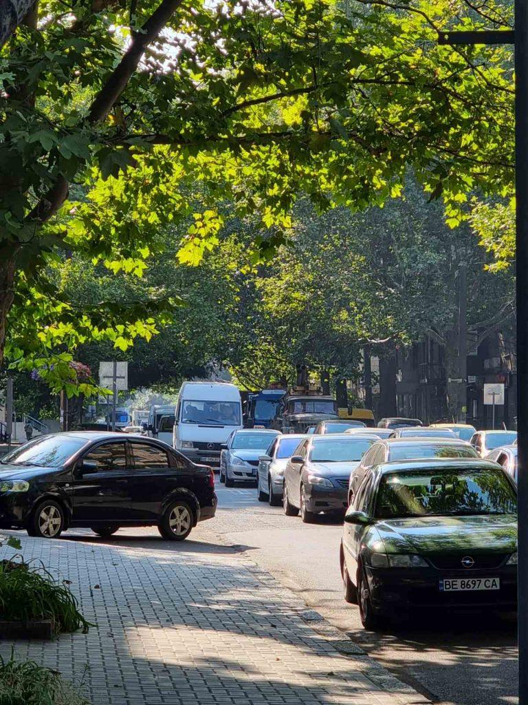 Фуры, Варваровский мост, пробки: как Николаев встретил 27 июля (ФОТО, ВИДЕО) 17