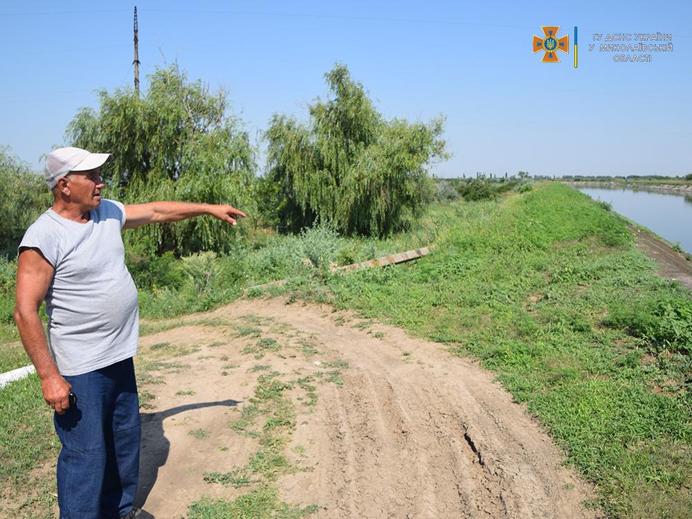 На Николаевщине смотритель каналов спас от верной смерти 13-летнюю девочку (ФОТО, ВИДЕО) 7