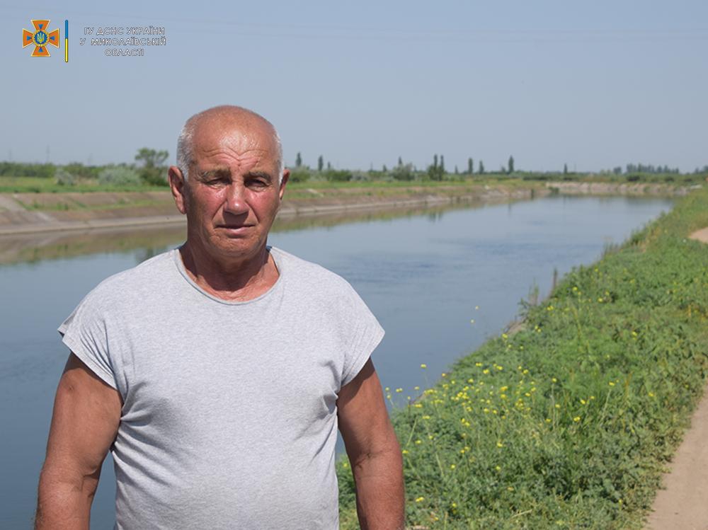 На Николаевщине смотритель каналов спас от верной смерти 13-летнюю девочку (ФОТО, ВИДЕО) 1