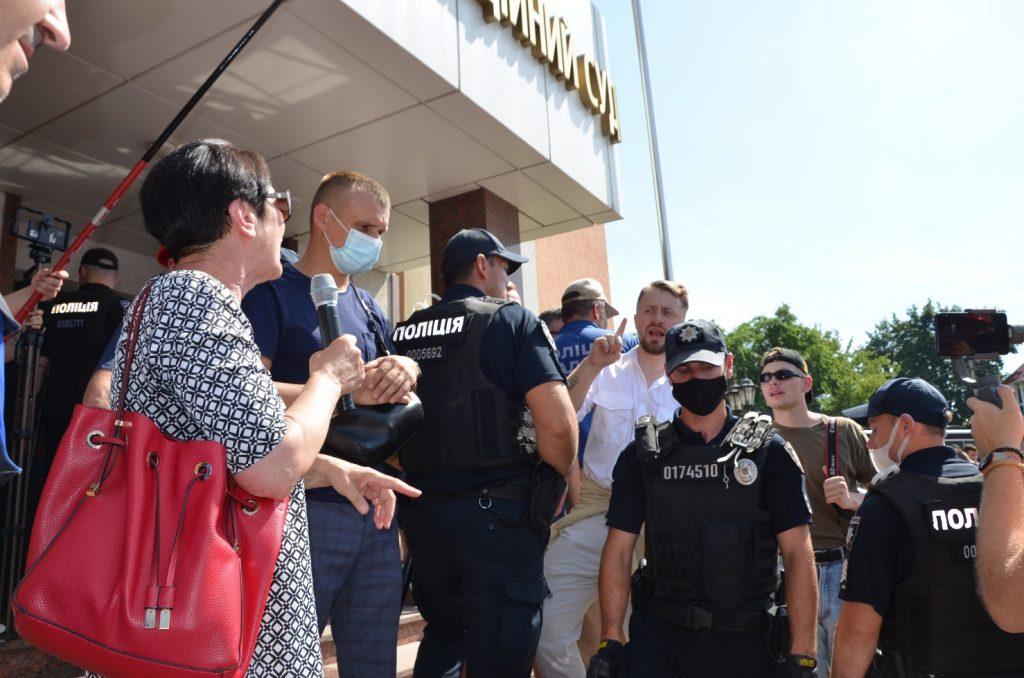 В Николаеве под судом встретились сторонники и противники НГЗ (ФОТО) ОБНОВЛЕНО 27