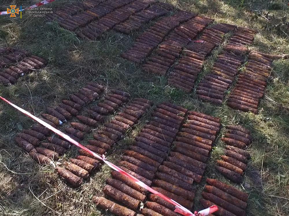 Искали, нашли, уничтожили. На Николаевщине взорвали 405 снарядов (ФОТО) 5