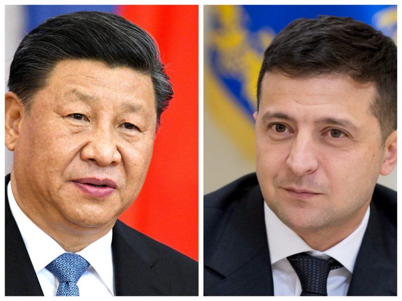 Состоялся телефонный разговор Владимира Зеленского с Председателем КНР Си Цзиньпином