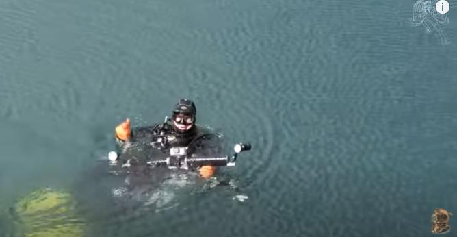 Стала известна глубина «Радонового озера» на Николаевщине: дайверы проверили дно и легенды (ВИДЕО)