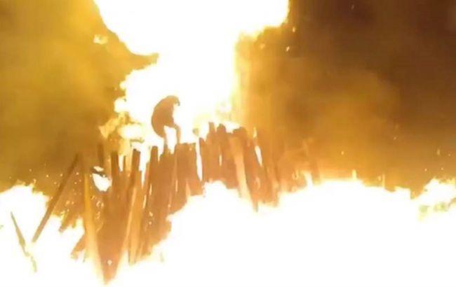 В Коростене взрыв на праздновании Купалы, трое пострадавших (ВИДЕО)