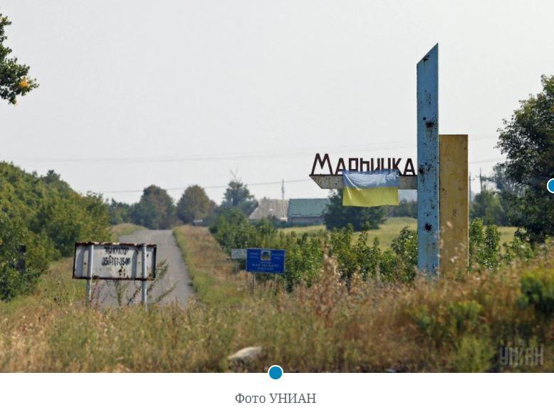 На Донбассе в результате обстрела ранен местный житель (ВИДЕО)