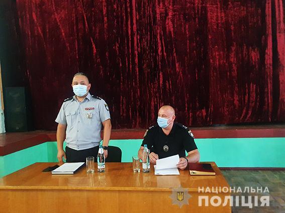 После коррупционного скандала Вознесенское управление полиции получило нового начальника