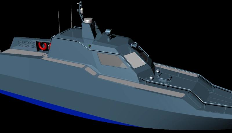 Николаевский опытно-проектный центр кораблестроения представил новый проект десантного катера