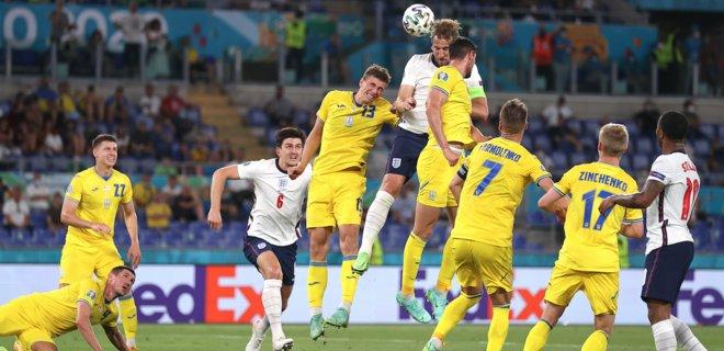 Украинская сборная проиграла Англии с разгромным счетом и выбыла с Евро-2020 (ВИДЕО)