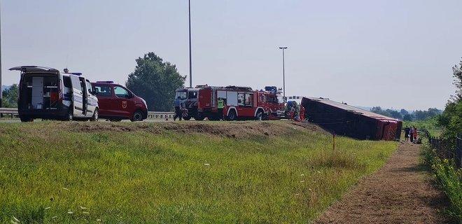 В Хорватии пассажирский автобус попал в ДТП: погибло 10 человек