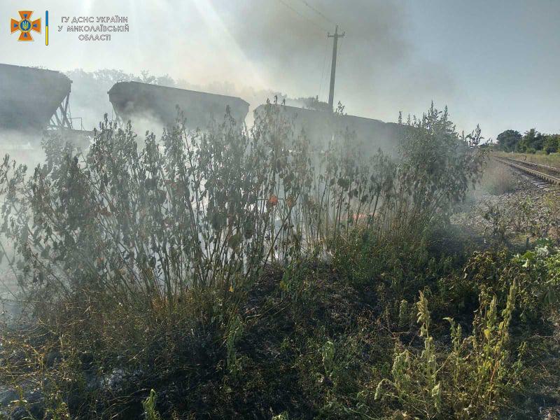 За сутки на Николаевщине выгорело более 42 га открытых территорий