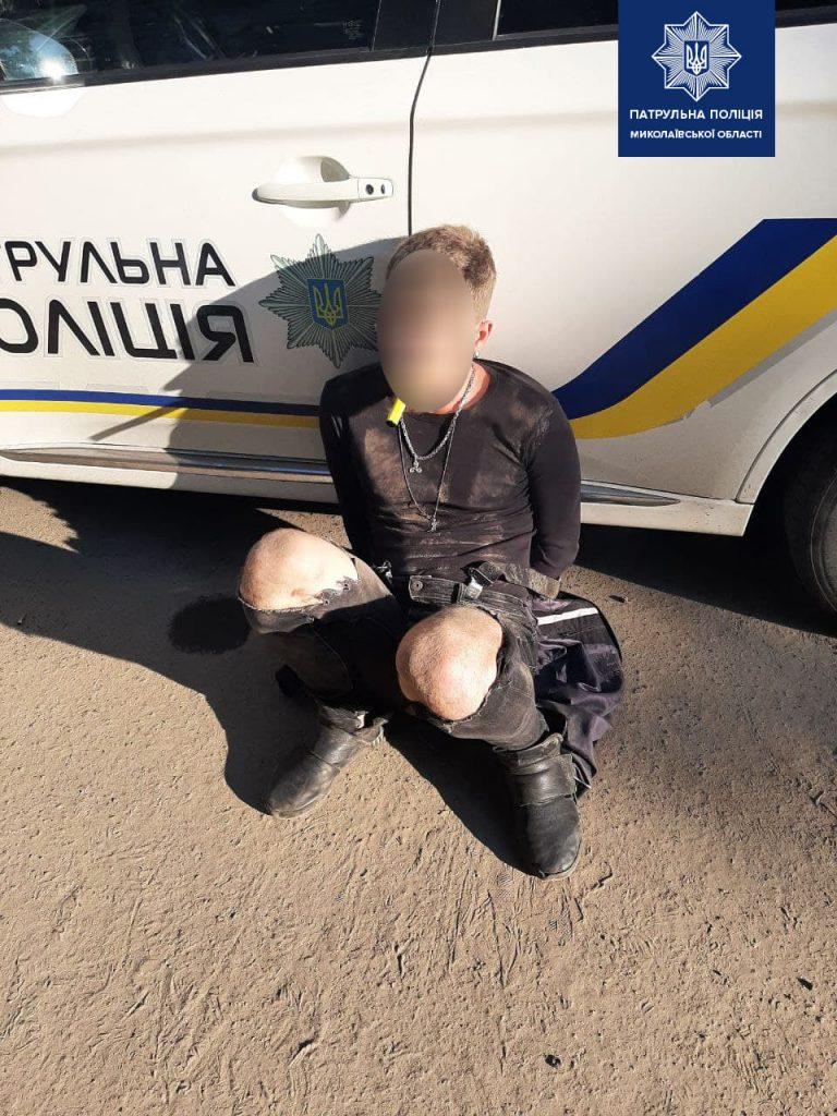 В Николаеве патрульные задержали «закладчиков» с 60 пакетиками с марихуаной (ФОТО) 1
