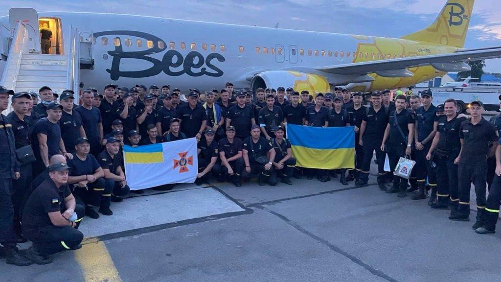 Украинские пожарные вернулись из Греции. Что спасли украинцы от огня на родине Олимпийских Игр? (ФОТО) 1