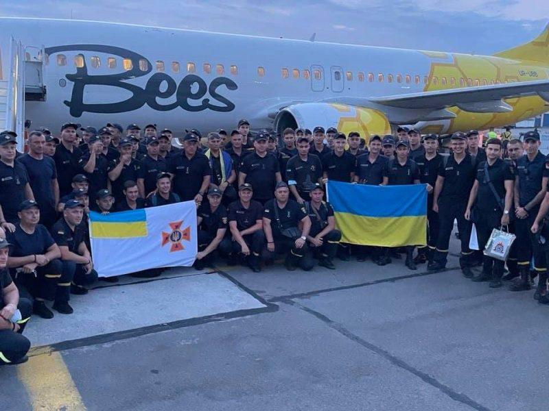 Украинские пожарные вернулись из Греции. Что спасли украинцы от огня на родине Олимпийских Игр? (ФОТО)