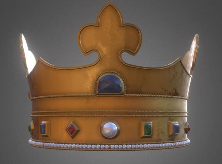 Ученые показали 3D-макет короны Даниилы Галицкого (ФОТО) 1