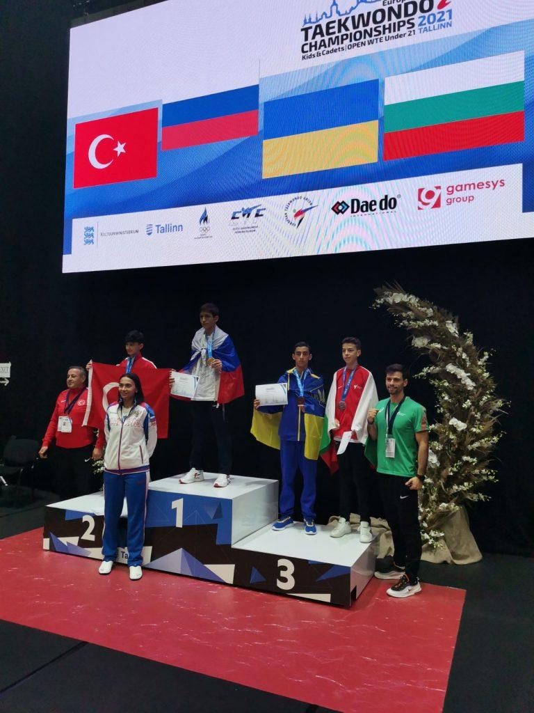 Юный николаевец добыл «бронзу» чемпионата Европы по тхэквондо (ФОТО) 1