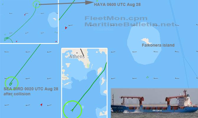 В Эгейском море затонул ливанский сухогруз с 7 тыс.тонн украинской пшеницы 1