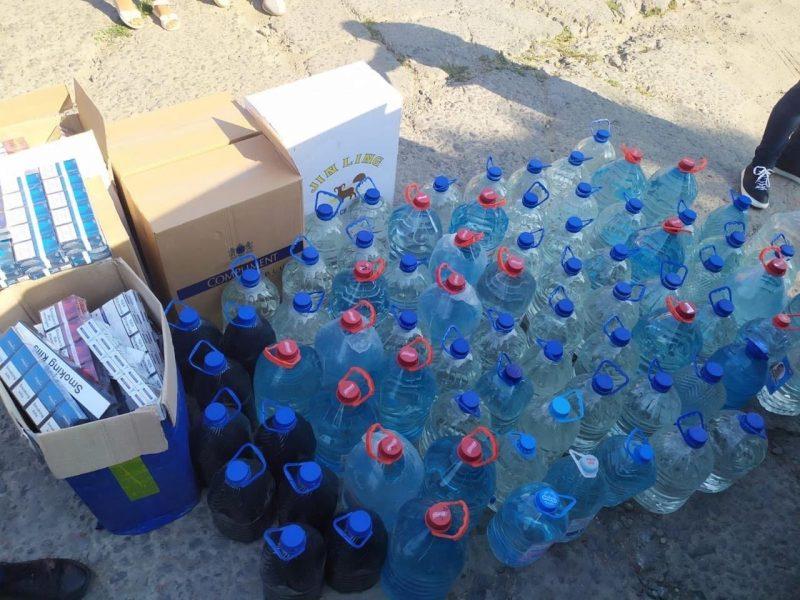 В Николаеве налоговики изъяли нелегального алкоголя и сигарет на сумму свыше 1 млн грн (ФОТО)