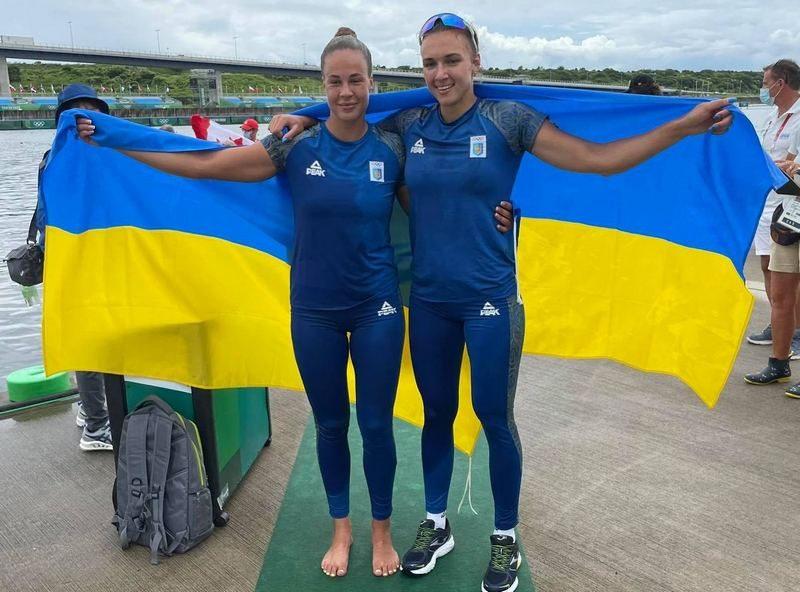 15-ю награду Олимпийских Игр в Токио Украине принесли каноистки Людмила Лузан и Анастасия Четверикова – «серебро»