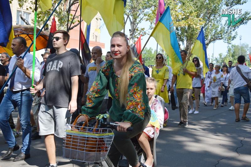 «Путин х**ло!»: в Николаеве прошел свой парад в честь Дня Независимости (ФОТО) 21
