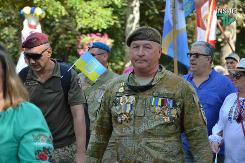«Путин х**ло!»: в Николаеве прошел свой парад в честь Дня Независимости (ФОТО) 25