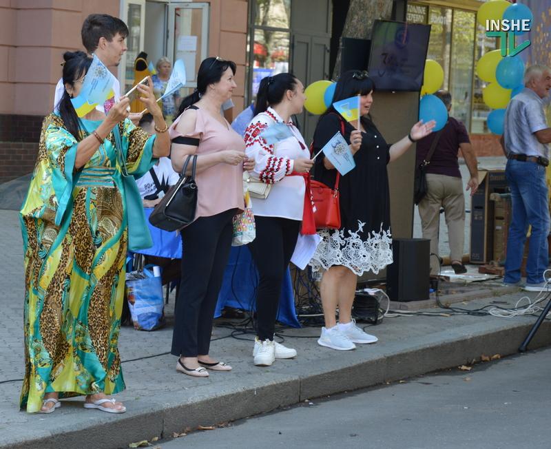 «Путин х**ло!»: в Николаеве прошел свой парад в честь Дня Независимости (ФОТО) 27