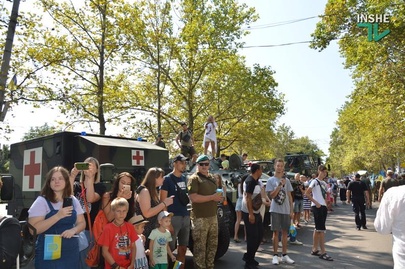 «Путин х**ло!»: в Николаеве прошел свой парад в честь Дня Независимости (ФОТО) 29