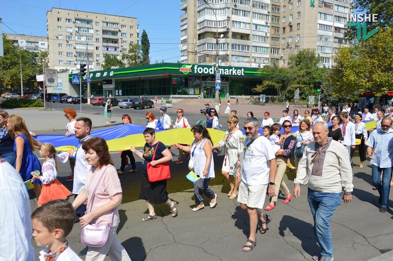 «Путин х**ло!»: в Николаеве прошел свой парад в честь Дня Независимости (ФОТО) 31