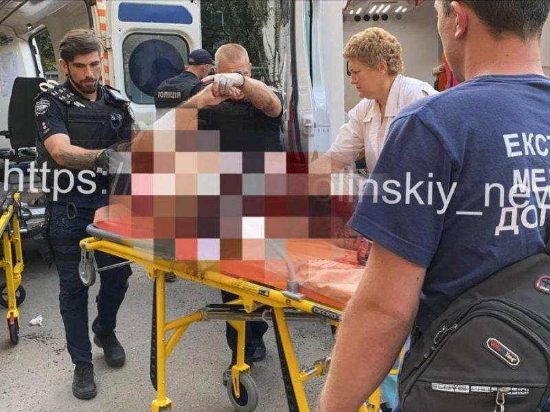 В Кривом Роге ветеран АТО подорвал себя гранатой, ранены трое патрульных (ФОТО)
