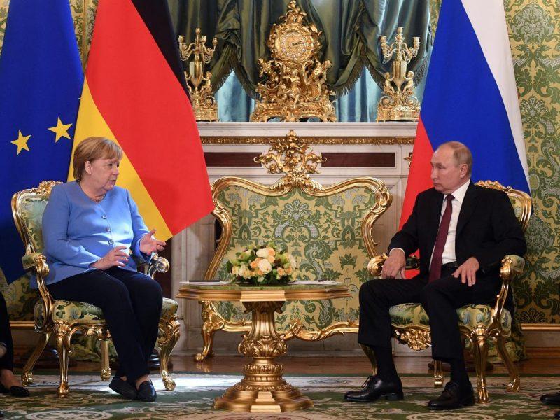Рандеву состоялось. О чем Меркель говорила с Путиным в Москве