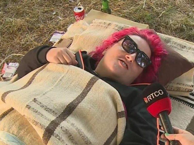 В Черногории завершился чемпионат по лени. Победительница установила рекорд и получила 300 евро (ФОТО)