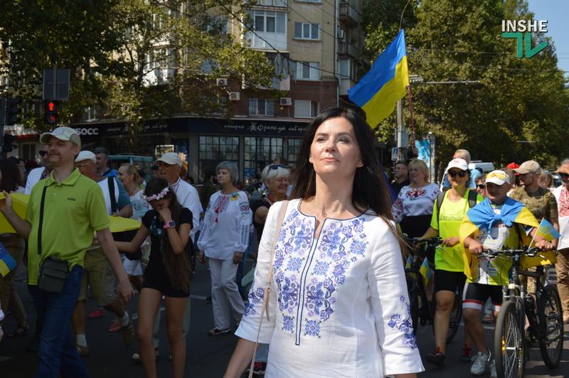 «Путин х**ло!»: в Николаеве прошел свой парад в честь Дня Независимости (ФОТО) 35