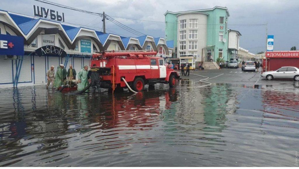 Обещали Николаеву, а пролился в Одессе: жемчужину у моря основательно подтопило ливнем (ФОТО, ВИДЕО) 3