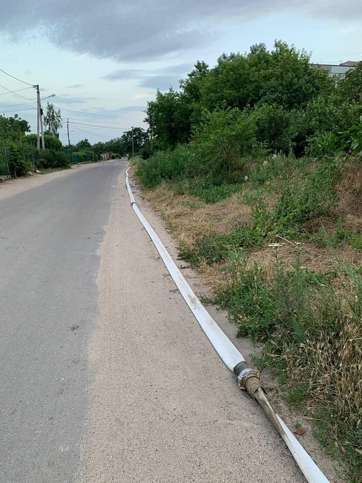 Разрушенный канализационный коллектор на ул.Флотская в Николаеве: подрядчик начнет работать с начала сентября (ФОТО) 5
