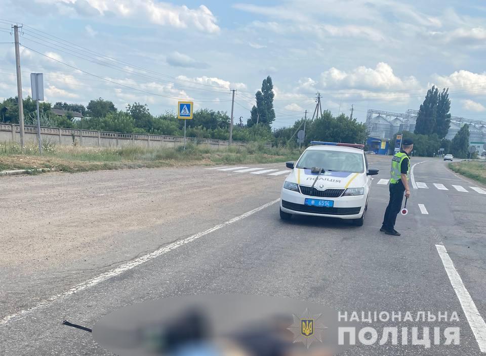 У Константиновки под колесами микроавтобуса погиб пешеход (ФОТО) 1