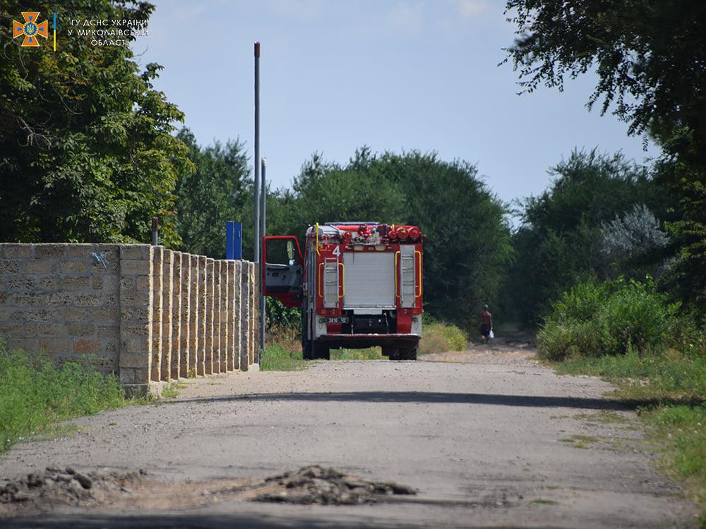 На Николаевщине за сутки выгорело более 48 га открытых территорий - пострадал один человек (ФОТО) 3