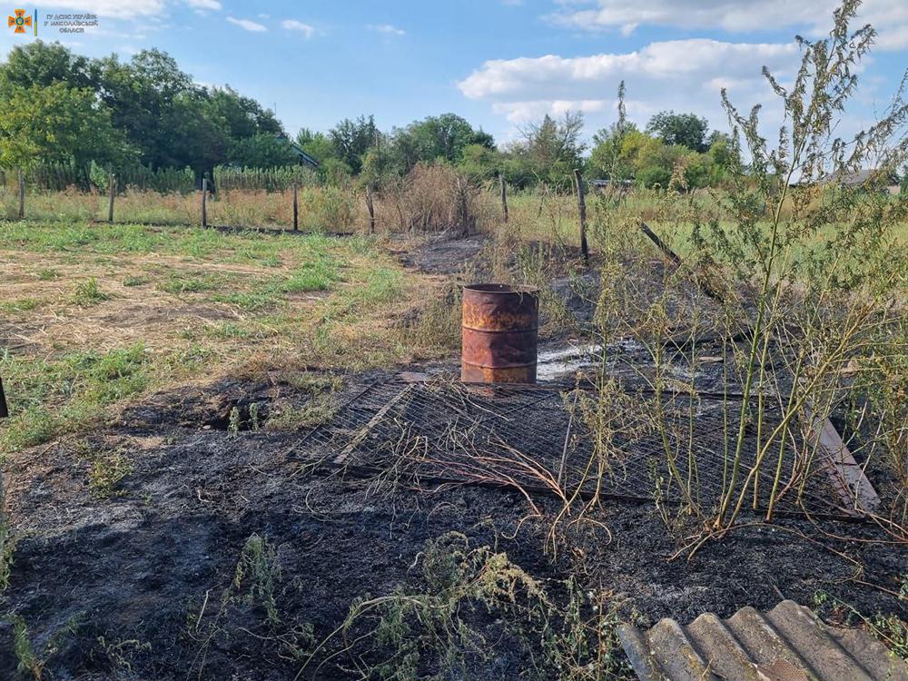 Спасатели Николаевщины четырежды за сутки тушили пожары в жилье (ФОТО) 5
