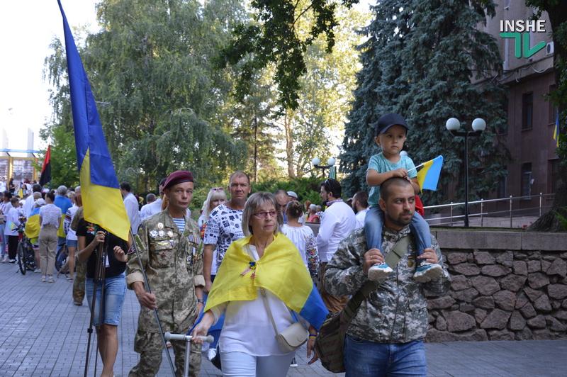 «Путин х**ло!»: в Николаеве прошел свой парад в честь Дня Независимости (ФОТО) 3