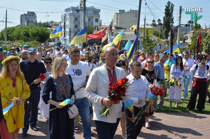 «Путин х**ло!»: в Николаеве прошел свой парад в честь Дня Независимости (ФОТО) 43