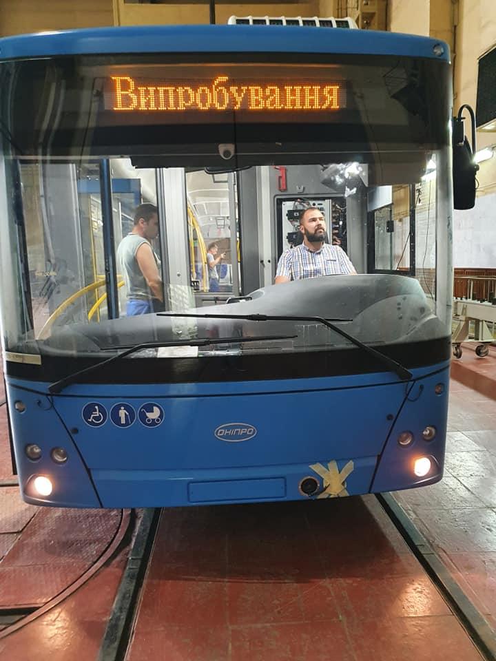 Первые десять троллейбусов для Николаева ушли на испытания (ВИДЕО) 1