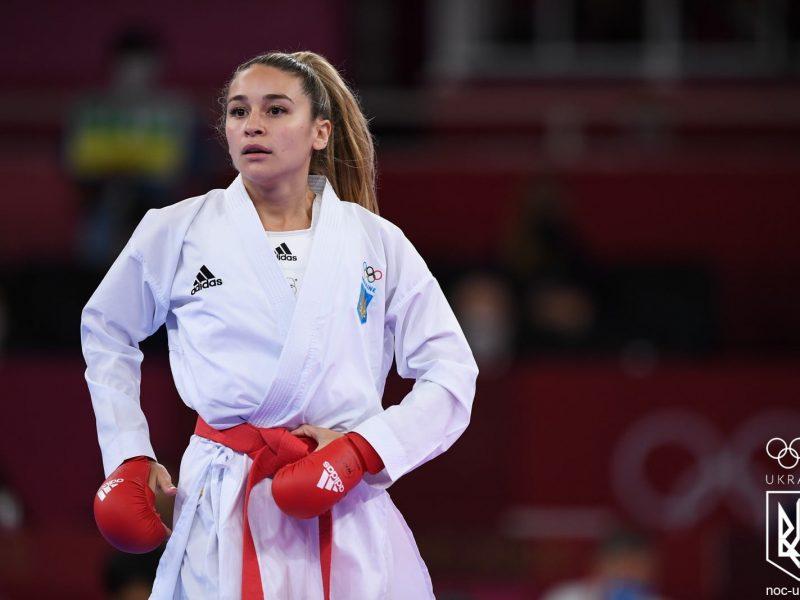 Терлюга принесла Украине историческое серебро по карате на Олимпийских играх