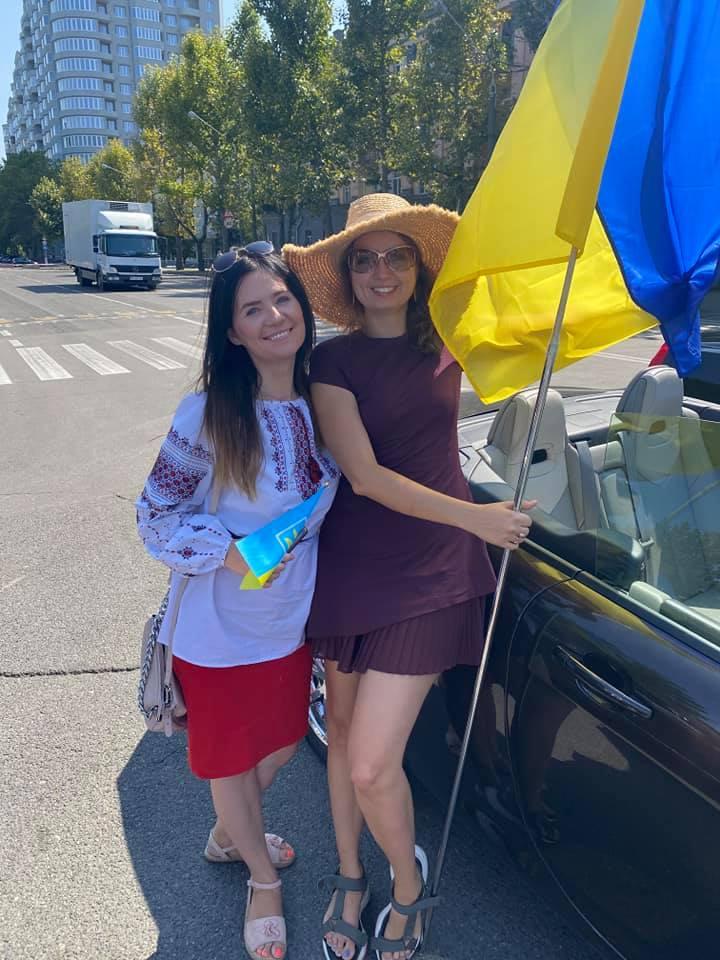 В Николаеве прошел масштабный автопробег ко Дню Флага Украины (ФОТО) 9