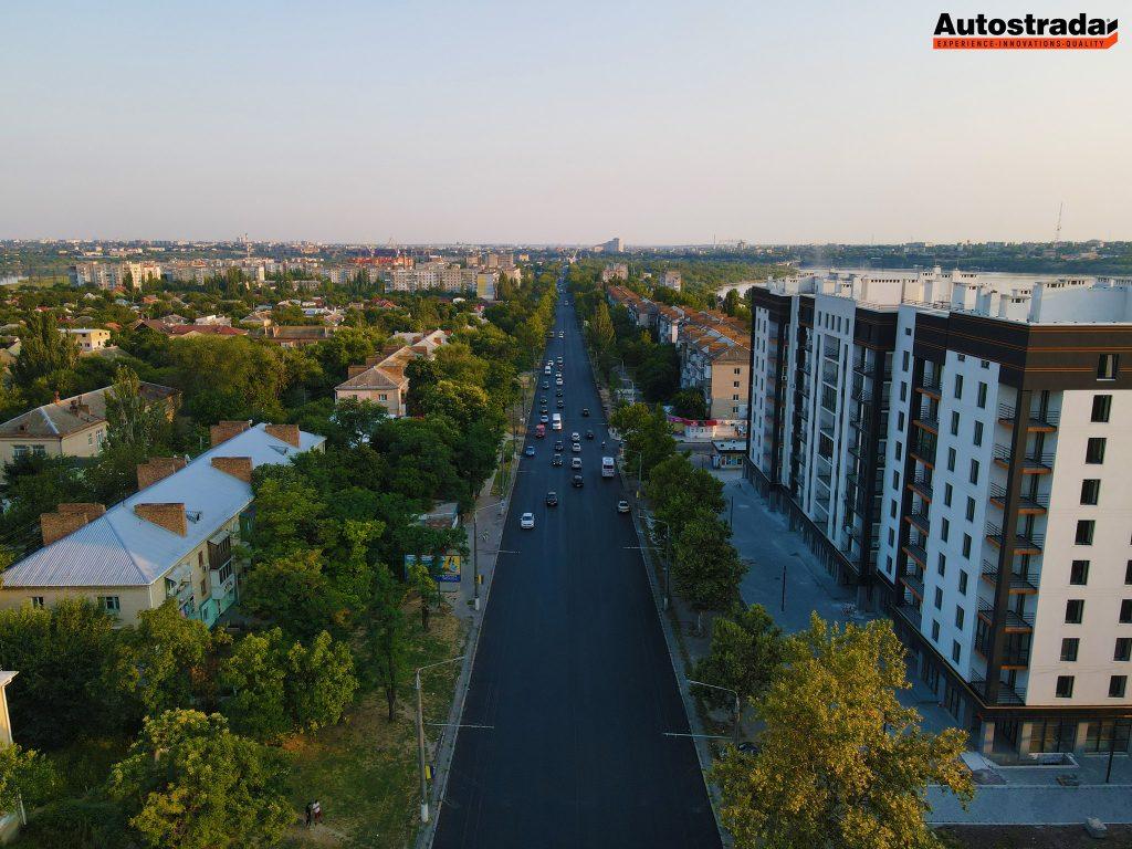"""На что пошли 320 миллионов: компания """"Автострада"""" показала обновленные дороги в Николаеве с высоты (ФОТО) 1"""