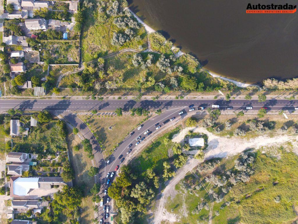 """На что пошли 320 миллионов: компания """"Автострада"""" показала обновленные дороги в Николаеве с высоты (ФОТО) 3"""