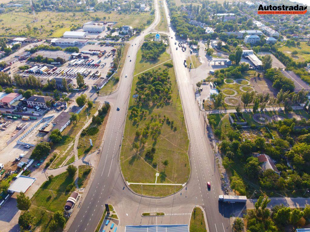 """На что пошли 320 миллионов: компания """"Автострада"""" показала обновленные дороги в Николаеве с высоты (ФОТО) 5"""