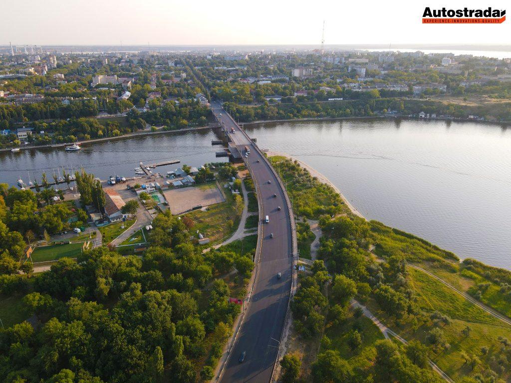 """На что пошли 320 миллионов: компания """"Автострада"""" показала обновленные дороги в Николаеве с высоты (ФОТО) 7"""