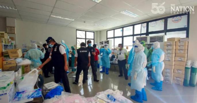 В Таиланде персонал COVID-госпиталя вызвал полицию: пациенты устроили массовую оргию под наркотиками