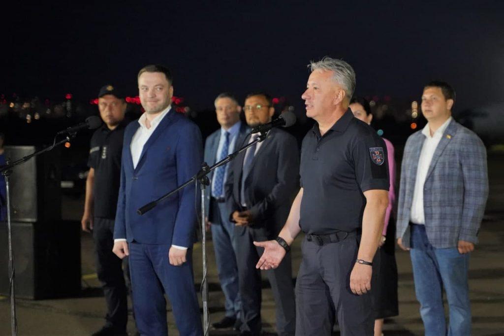 Украинские пожарные вернулись из Греции. Что спасли украинцы от огня на родине Олимпийских Игр? (ФОТО) 5
