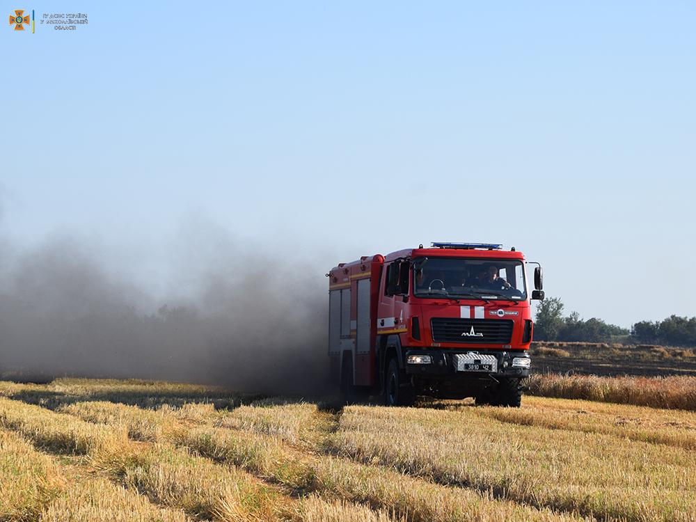 За сутки на территории Николаевской области выгорело 50 га открытых территорий (ФОТО) 5
